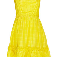 Oscar de la Renta Silk-organza dress – 60% at THE OUTNET.COM