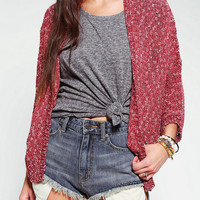 Staring At Stars Tuck Stitch Dolman Cardigan