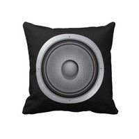 Audio Speaker Pillows from Zazzle.com