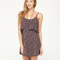 Floral Splash Coverup Dress