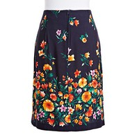 Midnight Garden Skirt | NiftyThrifty - Rare Finds Everyday