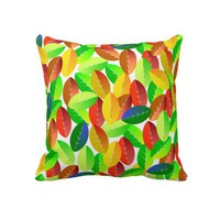 Leaves Pillow from Zazzle.com