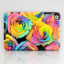 Rainbowlicious iPad Case by Lisa Argyropoulos
