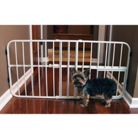 Carlson Mini Tuffy Metal Expandable Pet Gate:Amazon:Pet Supplies