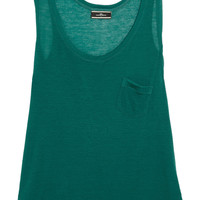 By Malene Birger Jersey tank – 60% at THE OUTNET.COM