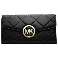 MICHAEL Michael Kors Handbag, Fulton Quilted Clutch Wallet - Handbags & Accessories - Sale - Macy's