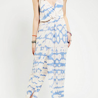 Urban Outfitters - Blu Moon Surplice Tie-Dye Tulip Dress
