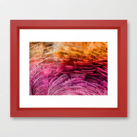 RUFFLED Framed Art Print by catspaws