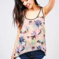Island Sunset Tank | Cute Tops at Pink Ice