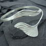 Silver Mermaid Cuff Bangle