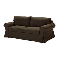 EKTORP Sofa bed, Svanby brown - Svanby brown - IKEA