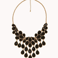 Teardrop Bib Necklace | FOREVER 21 - 1000047528