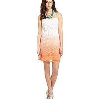 Takara Ombre Lace Dress | Dillards.com