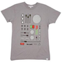 2K T-Shirts Dials and Dilemas (Storm Grey) Men's T-Shirt