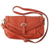 Target : Moda Luxe Small Flap Crossbody - Orange : Image Zoom