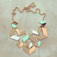 Pree Brulee - The Pastel Abstract Art Necklace