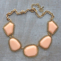 Pree Brulee - Peaches & Cream Necklace