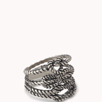 Twisted Rope Ring Set | FOREVER 21 - 1058573307