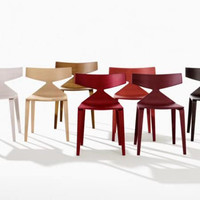 Saya wood chair by Lievore Altherr Molina