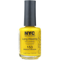 Walmart: NYC New York Color Long Wearing Nail Enamel, 153 Midtown Mimosa, 0.45 fl oz