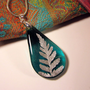 Fern Jewellery, Leaf Jewelry, Plant Jewelry, Resin Necklace