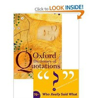 Oxford Dictionary of Quotations: Amazon.co.uk: Elizabeth Knowles: Books