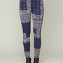 Free People Patchwork Knit Legging