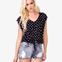 Sailboat Print Top