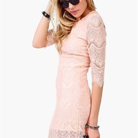 Dee Vine Dress - Pink