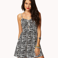 Tribal-Inspired Sweetheart Dress | FOREVER21 - 2038016016