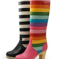 Swedish Hasbeens - Knee-high striped