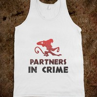 Partners In Crime (Abu Tank) - Movie Madness - Skreened T-shirts, Organic Shirts, Hoodies, Kids Tees, Baby One-Pieces and Tote Bags
