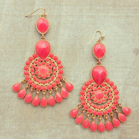 Pree Brulee - Orange Sunset Earrings