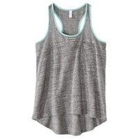 Xhilaration® Juniors Pocket Racer Tank - Assorted Colors