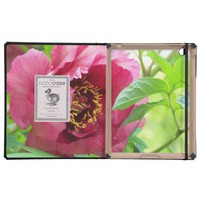 Red Peony iPad Case from Zazzle.com