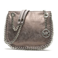 MICHAEL Michael Kors  Small Chelsea Metallic Messenger