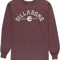 Billabong Grindhouse Ls - Eggplant Heather - M444WGRI				 |  			Billabong 					US