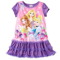 Disney Princess Ruffled Nightgown - Toddler