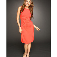Tommy Bahama Tambour Ruched Side Dress