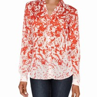 Sheer Floral Print Blouse | Women's Tops | THE LIMITED
