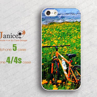 iphone 4 cases  iphone 5 cases  protector verizon iphone 4 case Iphone case unique iphone 4 cover bike & field design