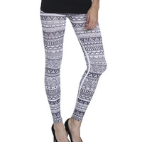 Tribal Print Seamless Legging | Shop Active at Wet Seal