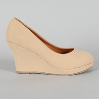 Soap-1 Round Toe Wedge
