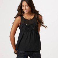 AE Sequined Sweetheart Tank | American Eagle Outfitters