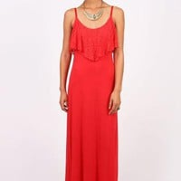 Prima Lace Maxi Dress - Maxi Dresses at Pinkice.com