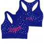 Los Angeles Dodgers Lace Yoga Bra