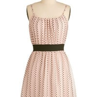 Afternoon Bubble Tea Dress | Mod Retro Vintage Dresses | ModCloth.com
