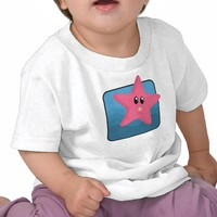 Cartoon Starfish Tshirts from Zazzle.com