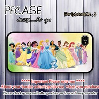 Disney Princess : Case For Iphone 4/4s ,5 / Samsung S2,3,4