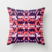 Mix #343 Throw Pillow by Ornaart